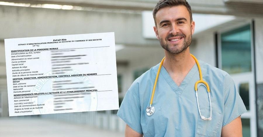 infirmier chiffre d'affaires societe